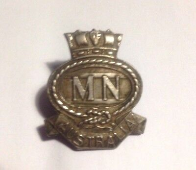1940 Merchant Navy Badge NUMBER 11187
