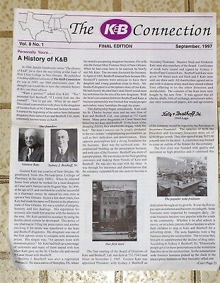 K&b Drugstore Company Newspaper Final Edition  New Orleans La. - Free Shipping