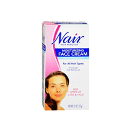 Nair Hair Removal Cream With Baby Oil For Face 2 oz