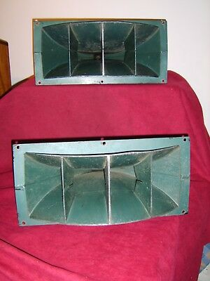 Altec Green 806A  vintage horn drivers and 811B horns pair fully working