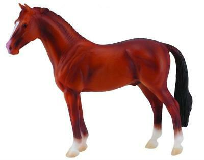 Breyer Horses Corral Pals Chestnut Hanoverian Stallion #88432 Warmblood, Brown