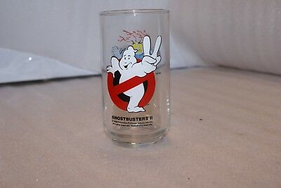 Vintage Ghostbusters II Nunzio Scoleri Collectible Drinking Glass