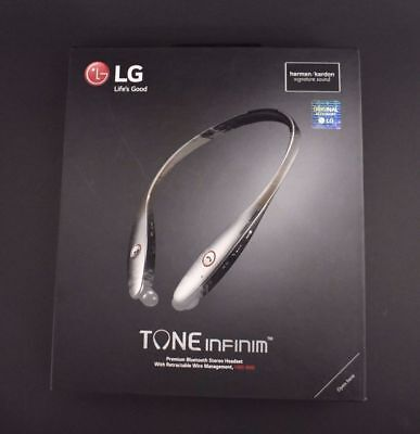 LG Tone Infinim HBS-900 Infinim Bluetooth Headset Black Harman Kardon