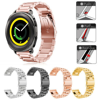 For Samsung Gear Sport R600 / Gear S2 Classic Smart Watch Clasp Strap Wrist Band