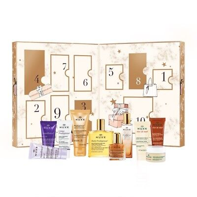 Nuxe Beauty Treasures Countdown Gift Set Containing 10 Items