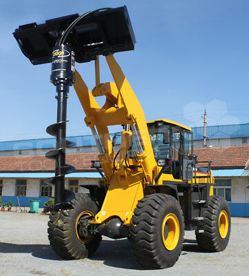 DIGGA PD3 Wheel Loader Auger Drive Unit Kubota CASE Komatsu JCB CAT Volvo Yanmar