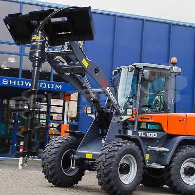 DIGGA PD5 Wheel Loader Auger Drive Unit Kubota CASE Komatsu JCB CAT Volvo Yanmar