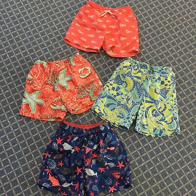LOT Of 4 E-Land, Zara Swim Short Size 2 3- Very Nice!!