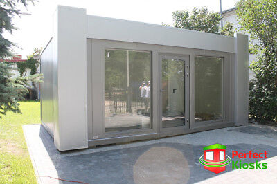 Portable Office 600x240cm Temporary Modular Building, Portable Cabin 7600+VAT