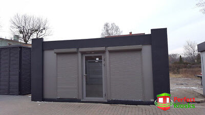Portable Office 600x240cm Temporary Modular Building, Portable Cabin 8200+VAT