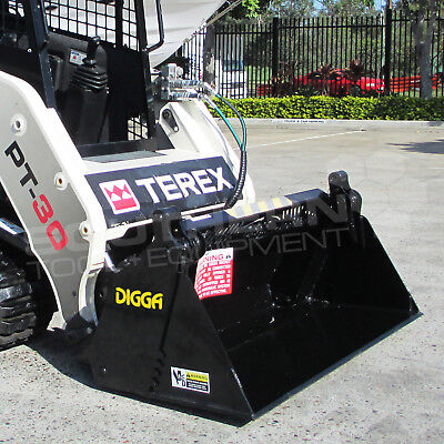 DIGGA 1450mm Skid Steer 4 in 1 Bucket Asv Caterpillar Kubota Toyota Jcb Bobcat