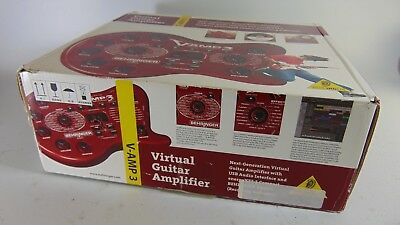 Behringer V-AMP 3 Virtual-Guitar Amp with USB Audi