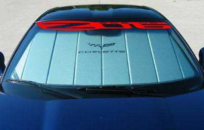 Ron Fellows Edition C6 Corvette Z06 Windshield Sticker Decal GM OFFICIAL