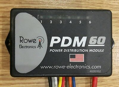 Rowe Electronics PDM60 power distribution module (used) + programing cable (new)