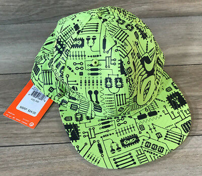 ffc3ce0ec11c7 NWT NIKE 6.0 Flat Bill Hat Fitted Size 8/20 Ball Cap Running Bright Cactus  - $14.99 | PicClick