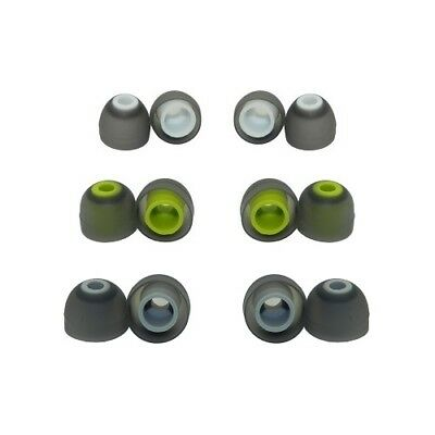 6 pair Jaybird bluebud X and Jaybird X2 replacement ear tips silicone earbuds