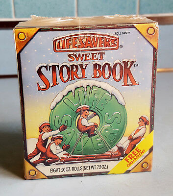 Lifesavers 1992 Sweet Story Book With Ornament