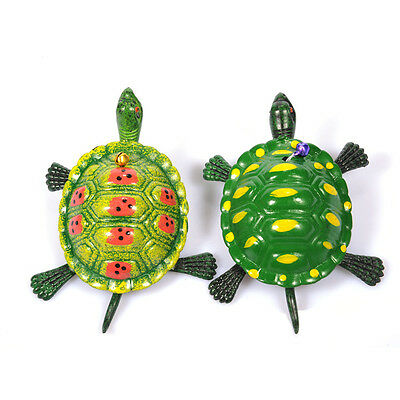 Clockwork Wind-up Tortoise Turtle Toy For Kids Childrens