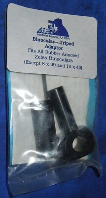 New / Sealed Binocular Tripod Adaptor - Rubber Armored Zeiss Binoculars