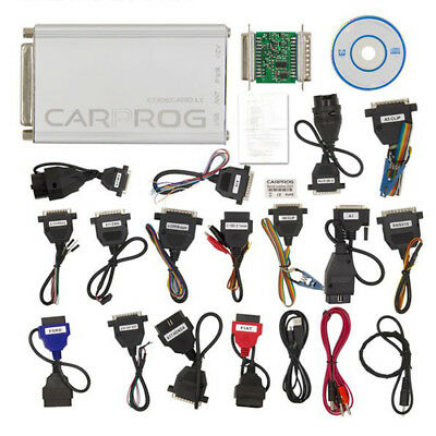 Newest Version V10.93 Carprog Full Car Prog Programmer With All 21 Item Adapters