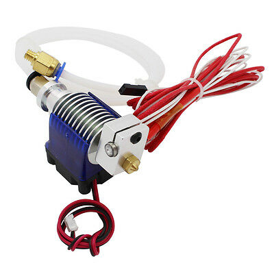 Metal J-head Hotend 3D V6 Bowden 1.75mm/3mm Extruder Makerbot Reprap 3D Printer