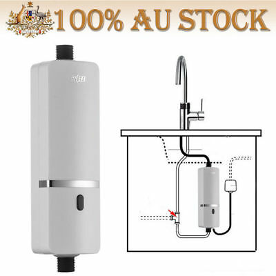 Electric Instant Hot Water System Kitchen Bathroom Tap Faucet Water Heater AU