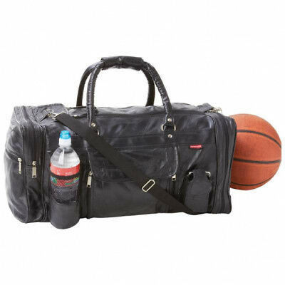 Embassy Genuine Leather 22-1/2 Gym Bag LEATHER GYM BAG