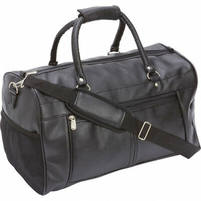 "Embassy Travel Gear 17 Faux Leather Tote Bag 17"" FAUX LEATHER TOTE BAG"