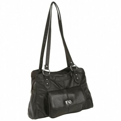 embassy solid genuine lambskin leather purse