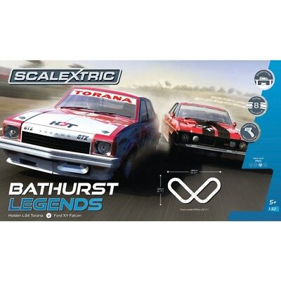 Scalextric Bathurst Legends Slot Car Set C1365 NEW
