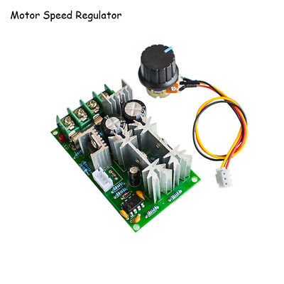 1pc Universal DC10-60V PWM HHO RC Motor Speed Regulator Controller Switch 20A HQ