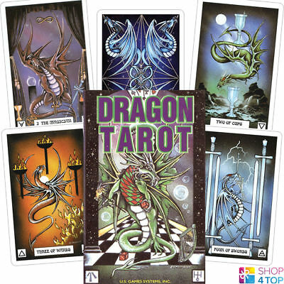 Dragon Tarot Cards Deck Terry Donaldson Esoteric Telling Astrology Games Systems