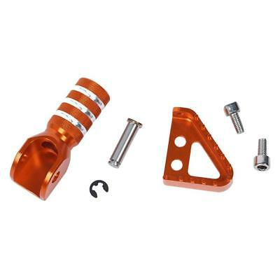 Orange Rear Brake Plate Shift Pedal Tip For KTM RC 125/200/390 DUKE690/990·