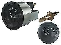 Water Temperature Gauge and sender Unit 24 volt Truck, Plant, Boat,