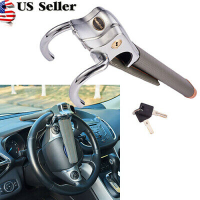 Universal Auto Car Anti-Theft Security Steering Wheel Lock Top Mount Car Lock