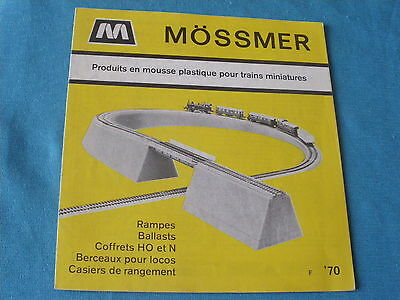 Brochure 8 Pages Mossmer Ho 1/87 Equipment For Train Electric N 1/160
