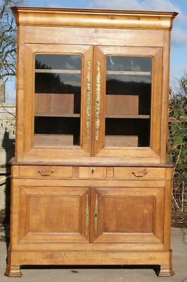 A Fine French Louis Philippe Oak 3 Piece Dresser / Buffet