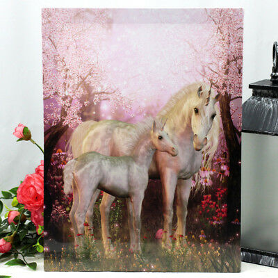 Pink Unicorn Wall Canvas (B)