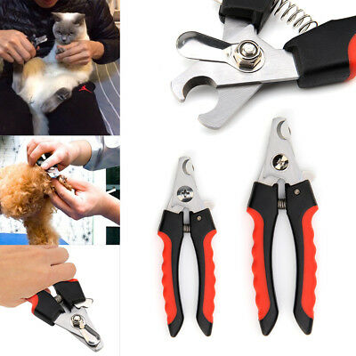 Pet Animal Dog Cat Bird Grooming Nail Clipper Scissor Trimmer + Nail File
