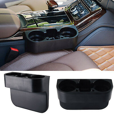 Black Cup Holder Car Universal Storage Drinking Bottle Can Mug Mount Stand UK