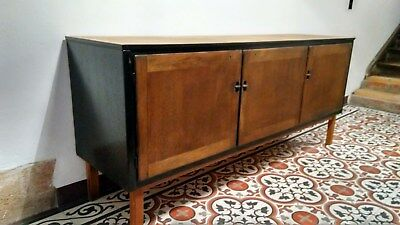 60er jahre sideboard anrichte kommode vintage mid century massiv holz eur 30 50. Black Bedroom Furniture Sets. Home Design Ideas