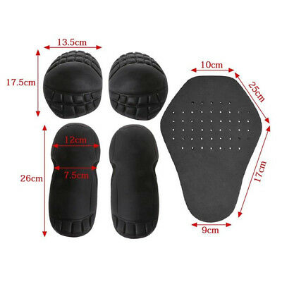 2pcs EVA Elbow Pads Knee Guard Brace Armor Protector Insert Pads For Motorcycle
