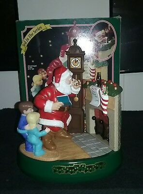 Coke Coca Cola Santa Claus Mechanical Bank 1995 Ertl Metal 3rd in Series