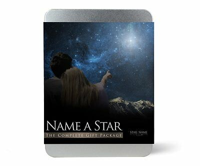 Name a Star Gift Tin UK, Buy a Star Name Gift   Luxury Design and View Your Star
