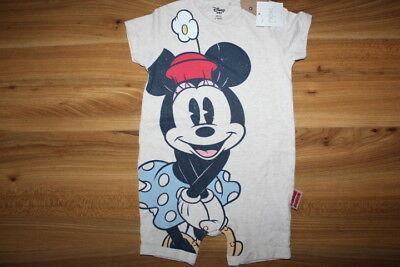 NEXT girls MINNIE MOUSE summer romper 9-12 months NEW *I'll combine postage*
