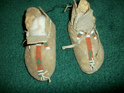 Indian moccasins (over 100 years old)