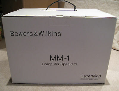 Bowers and Wilkins MM-1 PC/Mac Computer Speakers - SEALED!!