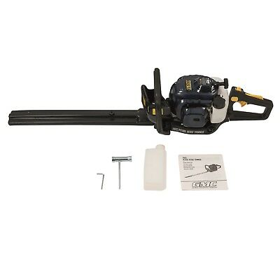 NEW PETROL HEDGE TRIMMER 26cc 2 STROKE ENGINE 560MM BLADE CUTTER GMC 829828