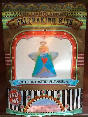 Gilliangladrag Feltmaking Kit - Hallelujah Hattie Felt Angel Kit
