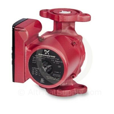 Grundfos UPS 26-99 FC, 3-Speed 1/6 Horsepower Circulator Pump with Flow Check